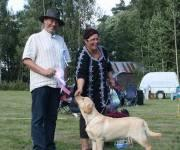 30.8.2009 K�yli� all-breed puppy show: Terho was BOB, BIG and BIS!